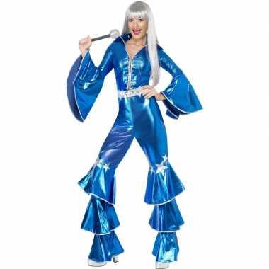 Abba carnavalskleding blauw