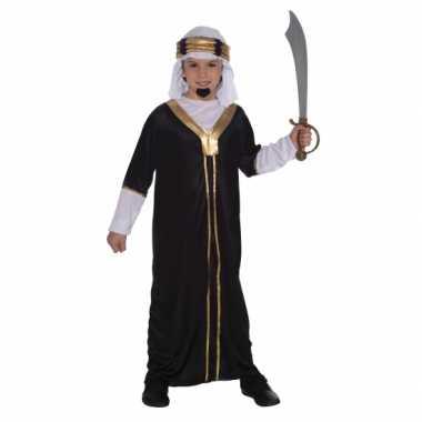 Arabieren sultan carnavalskleding kind zwart