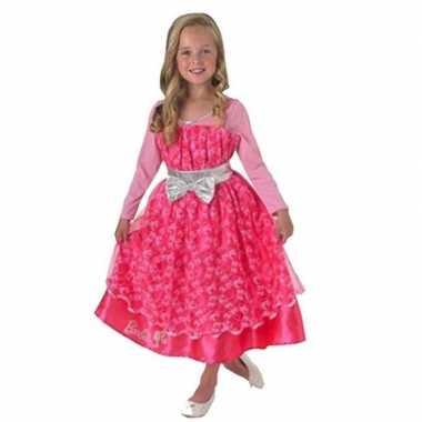 Barbie carnavalskleding roze kinderen