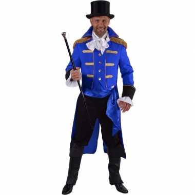 Blauwe baron carnavalskleding carnavalskleding heren