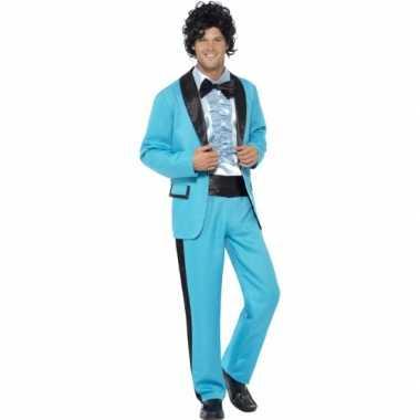 Blauwe carnavalskleding broek heren