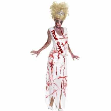 Bloederige prom queen carnavalskleding