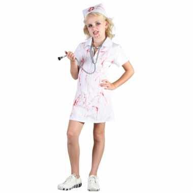 Bloederige verpleegster carnavalskleding kind