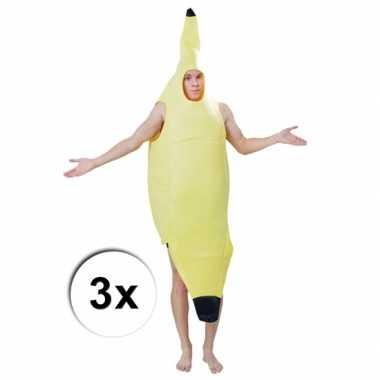 Carnavalskleding bananen carnavalskledingken stuks