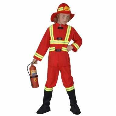 Carnavalskleding brandweer carnavalskleding kind
