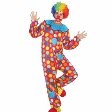 Carnavalskleding clown heren