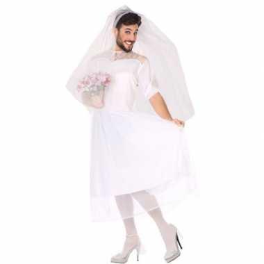 Carnavalskleding fun bruid heren