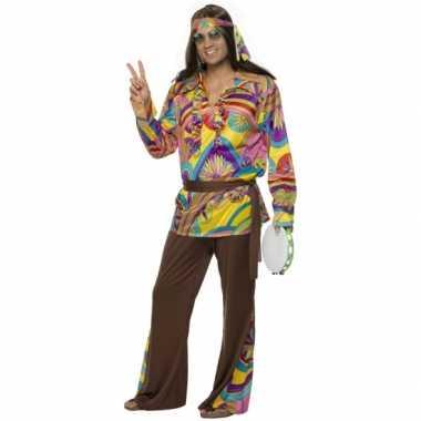 Carnavalskleding hippie carnavalskleding heren