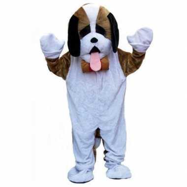 Carnavalskleding kwaliteit pluche hond carnavalskleding