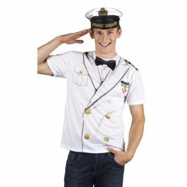 Carnavalskleding t shirt kapiteins carnavalskleding heren