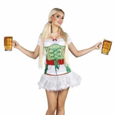 Carnavalskleding t shirt oktoberfest tiroler dames
