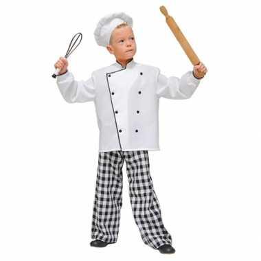 Chef kok carnavalskleding kind