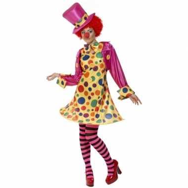 Clowns carnavalskleding dames
