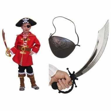 Compleet piraten carnavalscarnavalskledinge kinderen