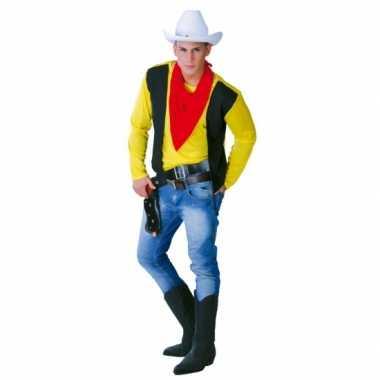 Cowboy carnavalskleding mannen