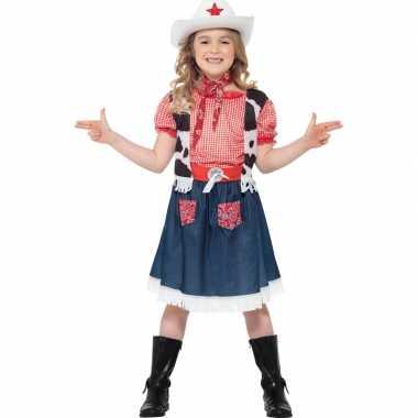 Cowgirl carnavalskleding meises