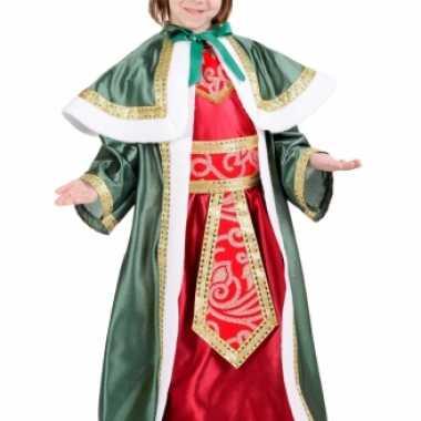 De Drie Wijzen groen carnavalskleding kind