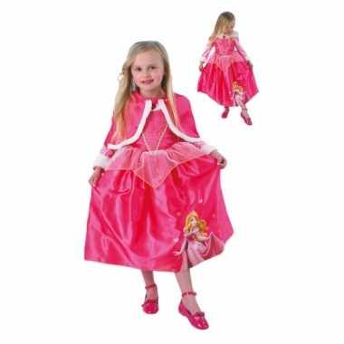 Doornroosje carnavalskleding cape kind