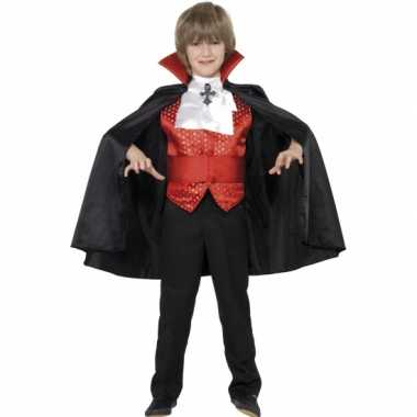 Dracula carnavalskleding kind
