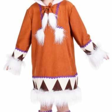 Eskimo carnavalskleding kind