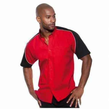 Formule carnavalskleding shirt rood