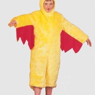 Geel kippencarnavalscarnavalskleding kinderen