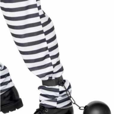 Gevangene bal ketting carnavalskleding