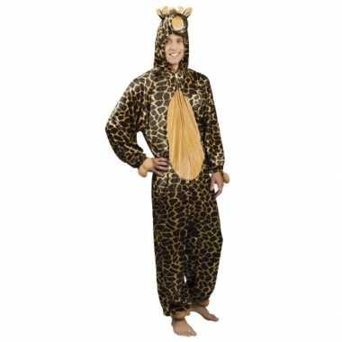 Giraffe onesie carnavalskleding