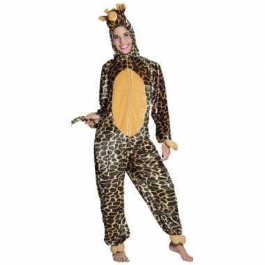 Giraffe onesie kids carnavalskleding