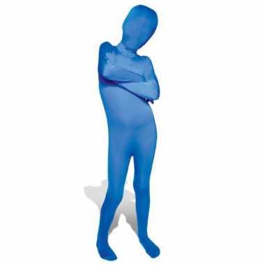 Goedkope kinder morph carnavalskleding blauw