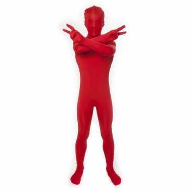 Goedkope kinder morph carnavalskleding rood