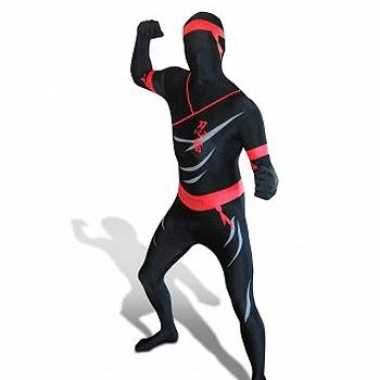 Goedkope morph carnavalskleding ninja carnavalskleding