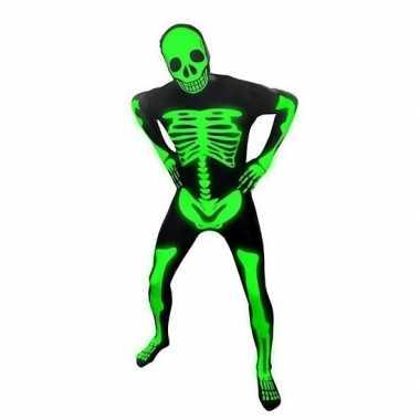 Goedkope morph carnavalskleding skelet