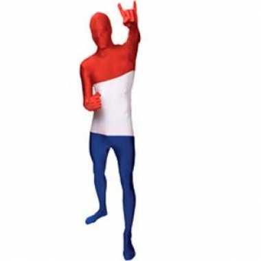 Goedkope morph carnavalskleding vlag Nederland