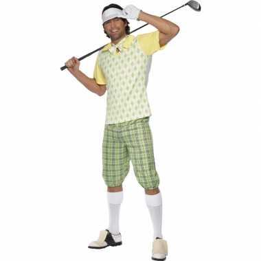 Golfers carnavalskleding heren