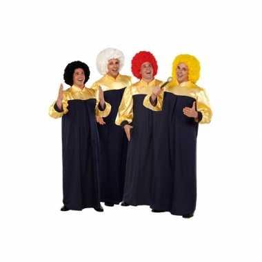 Gospel carnavalskleding volwassenen