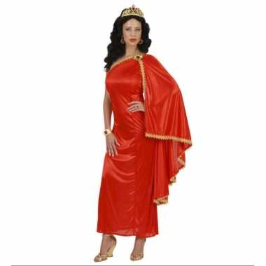 Griekse/Romeinse carnavalskleding rood