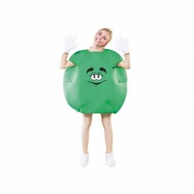 Groen snoep carnavalskleding volwassenen