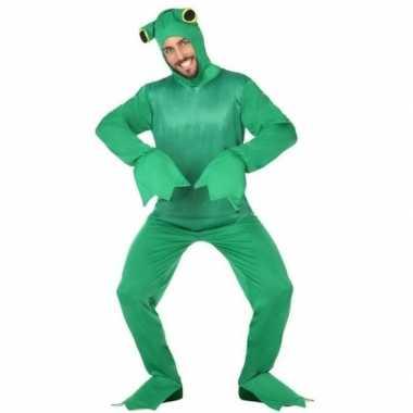 Groene kikker carnavalskleding carnavalskleding dames/heren