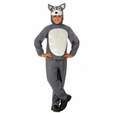 Grote boze wolf carnavalskleding kind