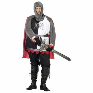 Grote maat middeleeuws ridder carnavalskleding