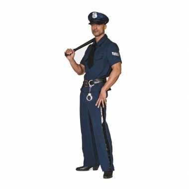 Grote maten carnavalskleding politie