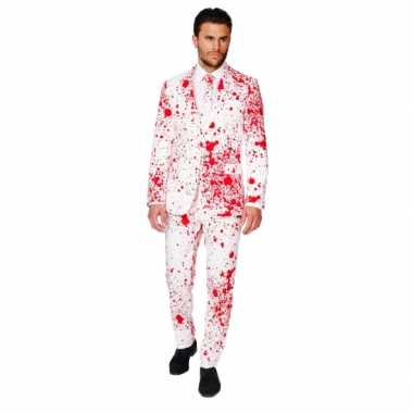 Halloween carnavalskleding bloedspatten