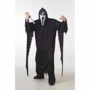 Halloween Scream carnavalskleding volwassenen