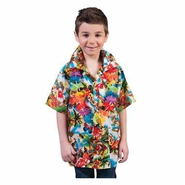 Hawaii feest carnavalskleding shirt kind