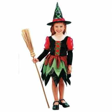 Heksen carnavalskleding kind