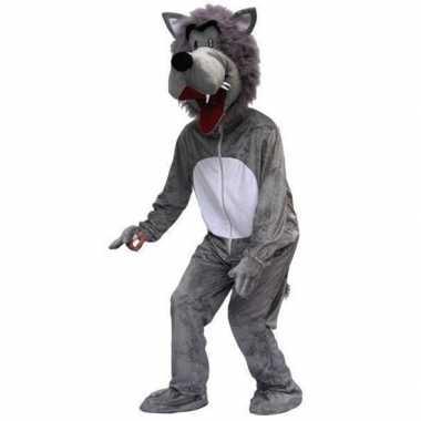 Heren carnavalskleding wolf