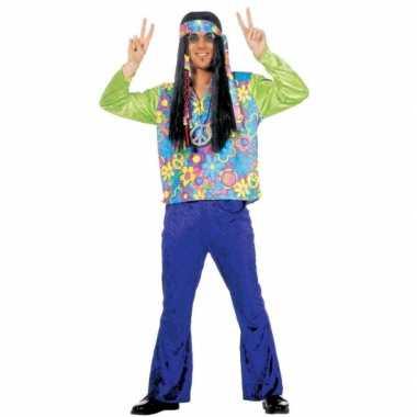 Hippie carnavalskleding heren