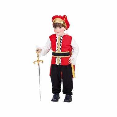Koning carnavalskleding kind