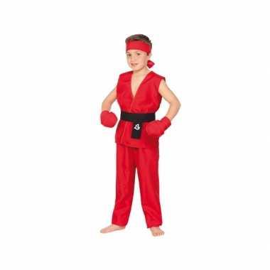 Kung Fu strijder carnavalskleding kind